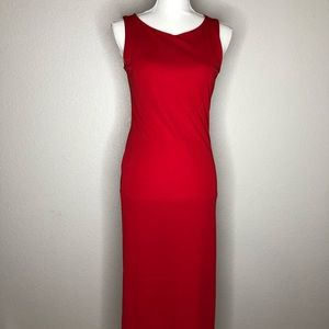 GAP Red Maxi dress